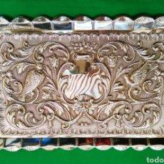 Antigüedades: BANDEJA DE PLATA DE LEY SIGLO XX. Lote 115066144