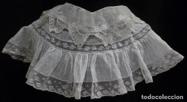 ANTIGUA CAPELINA DE ENCAJE PRINCIPIO S.XX (Antigüedades - Moda y Complementos - Mujer)