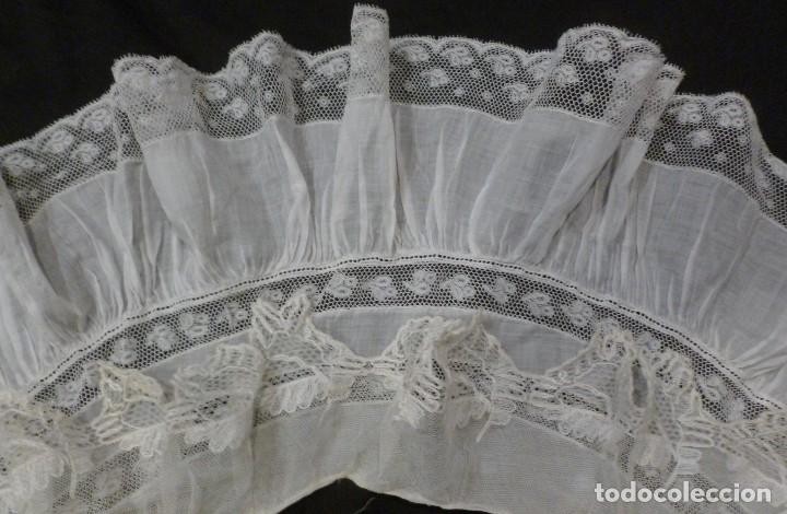Antigüedades: ANTIGUA CAPELINA DE ENCAJE PRINCIPIO S.XX - Foto 5 - 115100023