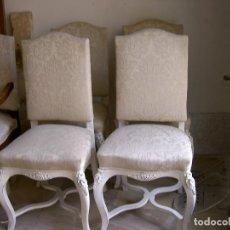 Antigüedades: CUATRO SILLAS DESPACHO S. XIX FRANCES. Lote 115124511