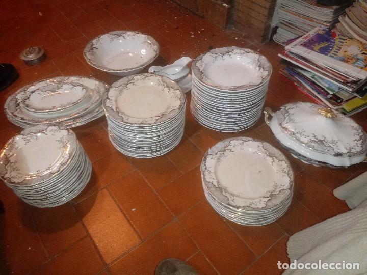 VAJILLA SAN CLAUDIO OVIEDO (Antigüedades - Porcelanas y Cerámicas - San Claudio)