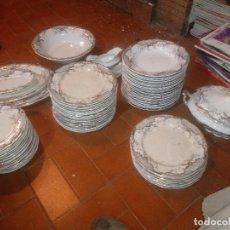 Antigüedades: VAJILLA SAN CLAUDIO OVIEDO. Lote 115126379