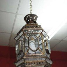 Antigüedades: FAROL ANTIGUO GRANADINO . Lote 115128351