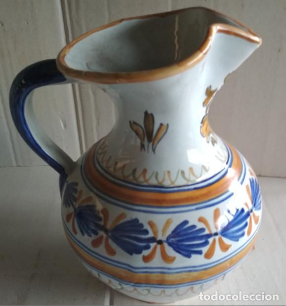BONITA JARRA, CERAMICA DE TALAVERA, VER FIRMA (Antigüedades - Porcelanas y Cerámicas - Talavera)