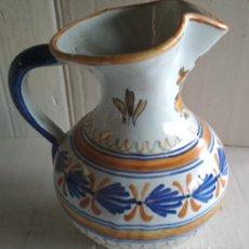 Antigüedades: BONITA JARRA, CERAMICA DE TALAVERA, VER FIRMA. Lote 115130051