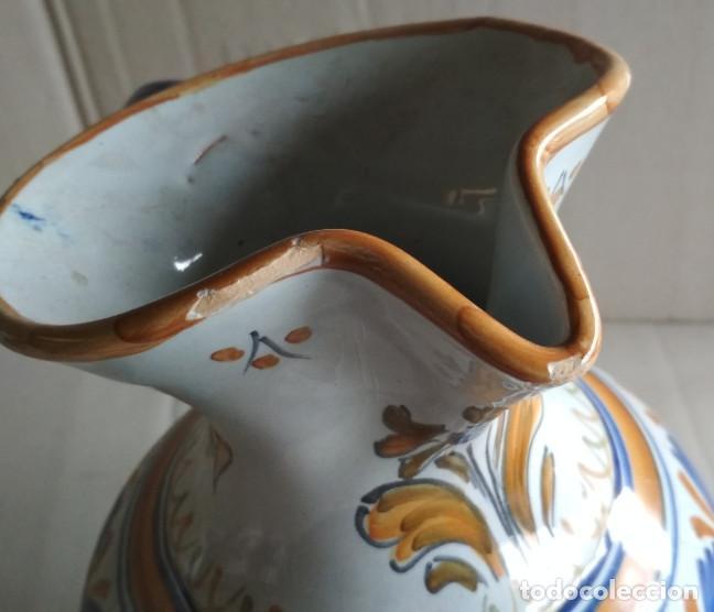 Antigüedades: BONITA JARRA, CERAMICA DE TALAVERA, VER FIRMA - Foto 2 - 115130051