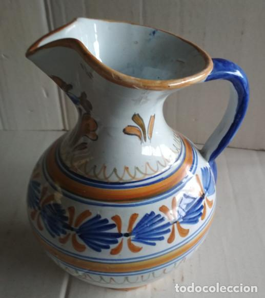Antigüedades: BONITA JARRA, CERAMICA DE TALAVERA, VER FIRMA - Foto 3 - 115130051