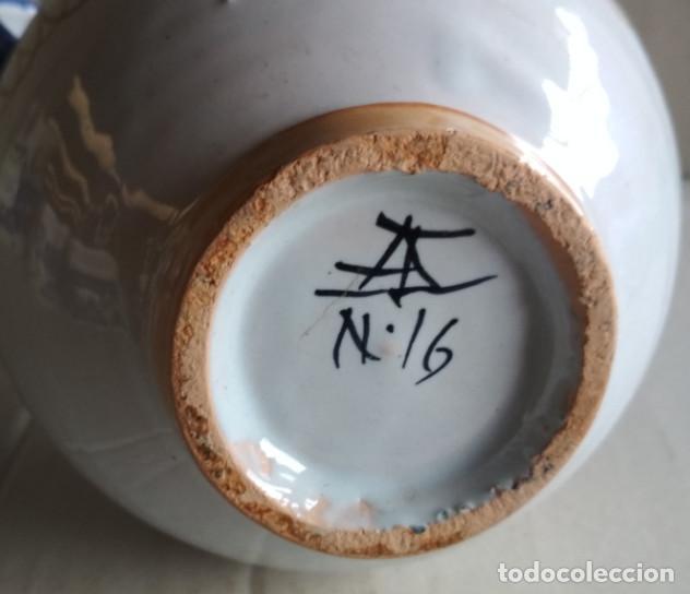 Antigüedades: BONITA JARRA, CERAMICA DE TALAVERA, VER FIRMA - Foto 4 - 115130051