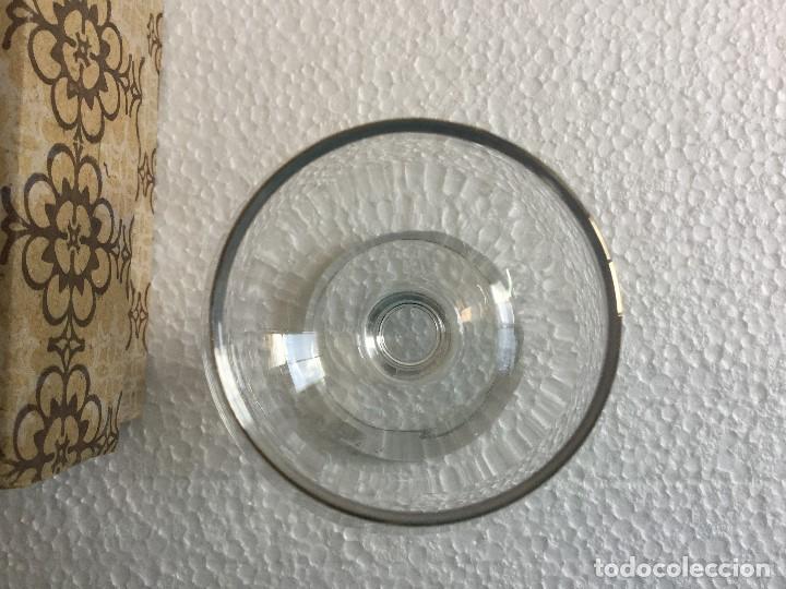 Antigüedades: Caja de 6 copas de coñac años 60 Napoleón cognac Vintage - Foto 10 - 115130635