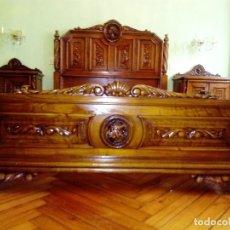 Antigüedades: DORMITORIO IMPRESIONANTE. Lote 115132739