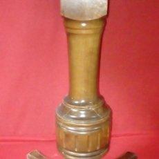 Antigüedades: PEQUEÑA MESA EXTENSIBLE, PARA RESTAURAR.. Lote 115171543