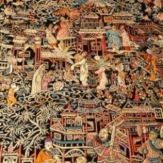 Antigüedades: MARAVILLOSO MANTÓN CANTONÉS. Lote 115176190