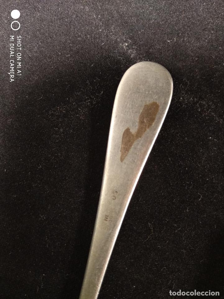 Antigüedades: LOTE DE 20 CUBIERTOS EN PLATA MENESES - 9 CUCHARAS - 5 TENEDORES - 6 CUCHILLO - 13 a 17 CM. APROX. - - Foto 9 - 115183623