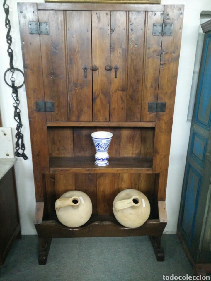 ANTIGUA ALACENA CANTARERA (Antigüedades - Muebles Antiguos - Armarios Antiguos)