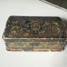 Antigüedades: ANTIGUA CAJA DE MADERA. Lote 115304210