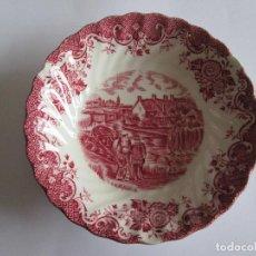 Antigüedades: BOL PORCELANA INGLESA - JOHNSON BROTHERS - 13 CM DIAMETRO - 3 CM HONDO. Lote 115358259