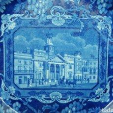 Antigüedades: VISTAS DE LONDRES STAFFORDSHIRE S.XIX. Lote 115359644