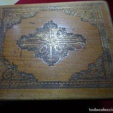 Antigüedades: CAJA DE COSTURA RELIGIOSA. Lote 115412307