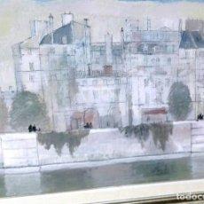 Antigüedades: VODELMAR BOBERMAN VISTA DE PARÍS . Lote 115464115