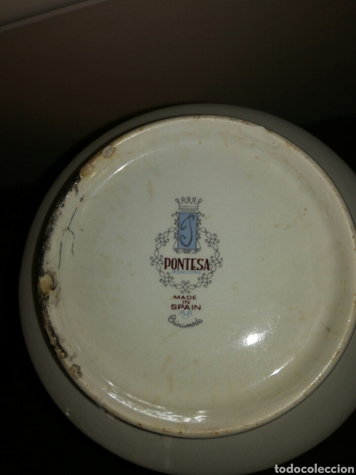 Antigüedades: Jarra Brandy Felipe II Pontesa - Foto 6 - 115471522