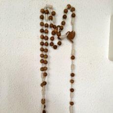 Antigüedades: GRAN ROSARIO - MADERA OLIVO -. Lote 115479883