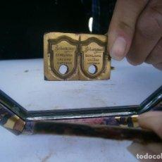 Antigüedades: PRECIOSO MOLDE DE METAL DE IMPRENTA AÑOS 30 40 ,,,CALIDAD SUPERIOR. Lote 115494351