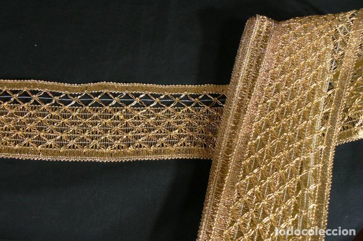 ENCAJE GALON PASAMANERIA (Antigüedades - Moda - Encajes)