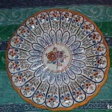 Antigüedades: GRAN PLATO DE TALAVERA TC 24. Lote 115525587