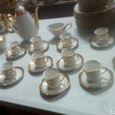 Antigüedades: PRECIOSO JUEGO DE CAFE FRANCÉS AÑOS 50. Lote 115528503