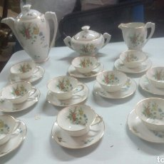 Antigüedades: IDEAL ANTIGUO JUEGO DE CAFE LIMOGES. Lote 115528555
