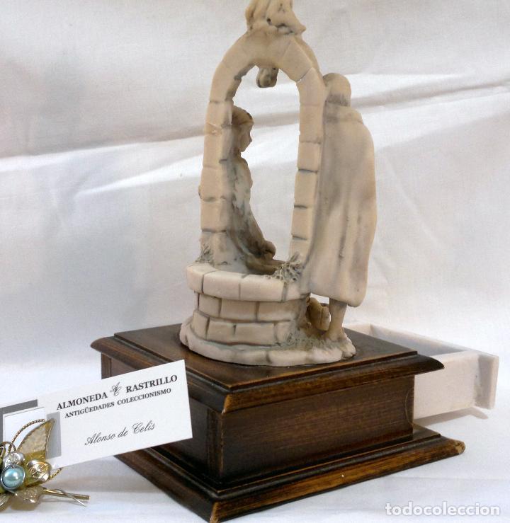Antigüedades: ANTIGUA CAJA-JOYERO EN MADERA Y MARFILINA. -DEL VECCHIO- RCDO. DE ESTA FAMILIA DE BILBAO. - Foto 5 - 115529215