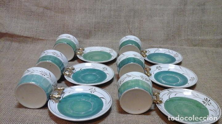 Antigüedades: Tazas con platos modernistas . 1920 - Foto 3 - 158146848