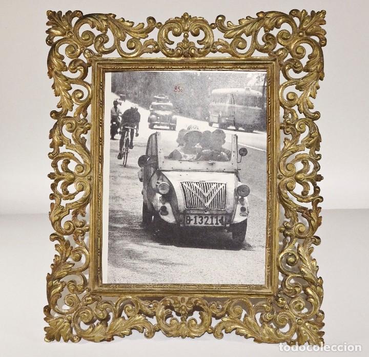 marco de bronce estilo antiguo sin cristal - Comprar Marcos Antiguos ...