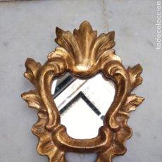 Antigüedades: CORNUCOPIA DE MADERA DORADA SIGLO XX. Lote 115550406