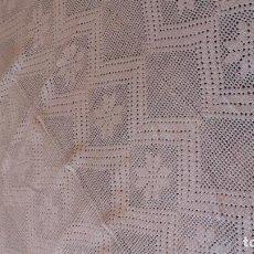 Antigüedades: COLCHA DE GANCHILLO. Lote 115552547