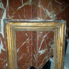 Antigüedades: MUY ANTIGUO MARCO DORADO. Lote 115559080
