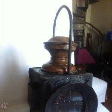 Antigüedades: FAROL FERROVIARIO TREN . Lote 47045775
