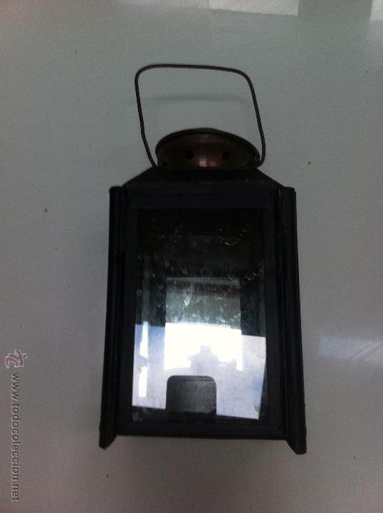 FAROL FERROVIARIO (Antigüedades - Iluminación - Faroles Antiguos)