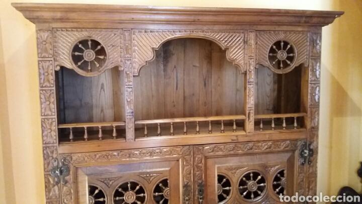 Antigüedades: Mueble aparador de estilo Bretón - Foto 3 - 115592195