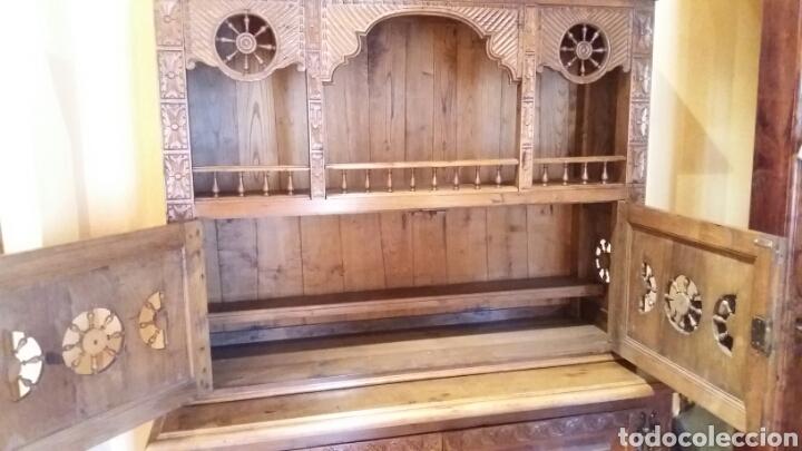 Antigüedades: Mueble aparador de estilo Bretón - Foto 6 - 115592195