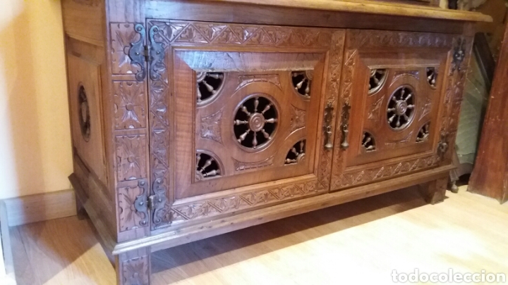 Antigüedades: Mueble aparador de estilo Bretón - Foto 7 - 115592195