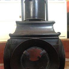 Antigüedades: FAROL FERROVIARIO RENFE. Lote 85345132