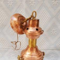 Antigüedades: LAMPARA NÁUTICA DE COMEDOR .SIGLO XX.. Lote 115621542