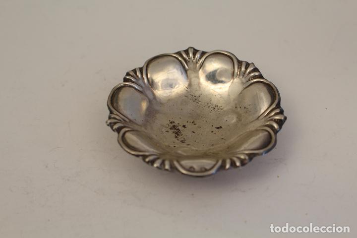 Antigüedades: bandeja en plata maciza de ley 925milesimas - Foto 4 - 125988498