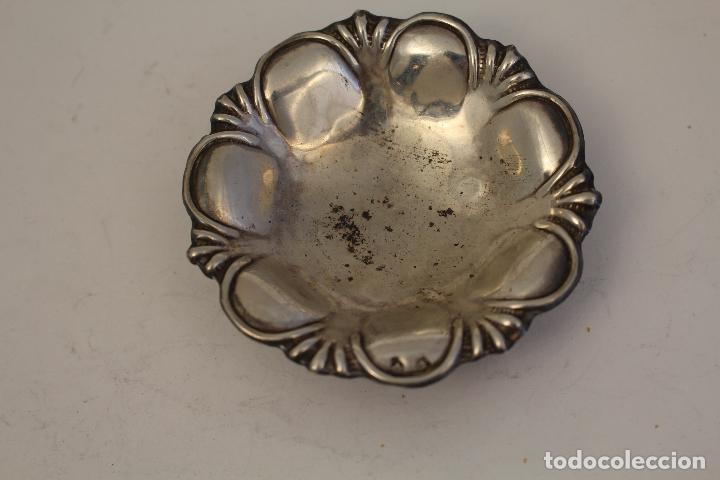 Antigüedades: bandeja en plata maciza de ley 925milesimas - Foto 5 - 125988498
