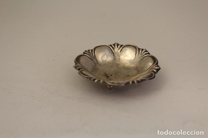 Antigüedades: bandeja en plata maciza de ley 925milesimas - Foto 6 - 125988498