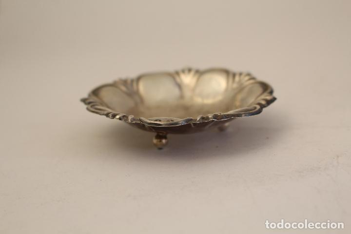 Antigüedades: bandeja en plata maciza de ley 925milesimas - Foto 7 - 125988498