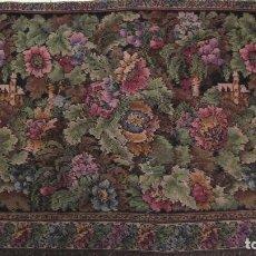 Antiques - Antiguo tapíz textura aterciopelada 167 x 74 - 115657587