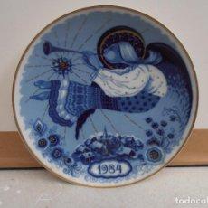 Antigüedades: PLATO SANTA CLARA - NAVIDAD 1984. Lote 182988343