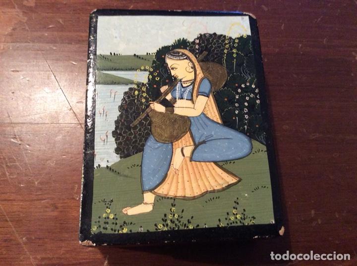 CAJITA INDIA. (Antigüedades - Hogar y Decoración - Cajas Antiguas)